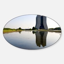 Wilson Hall at Fermilab - Sticker (Oval)