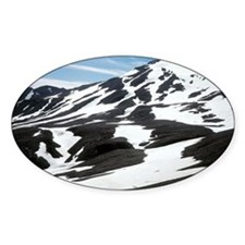 Volcanic tuff landscape - Decal
