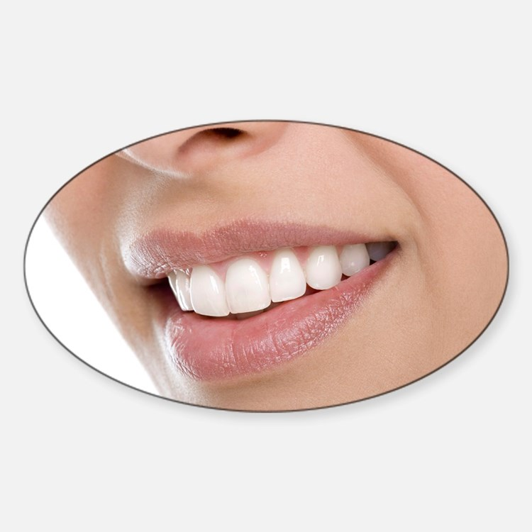 Woman's mouth - Decal