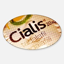Cialis packaging - Sticker (Oval)
