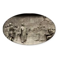 Giordano Bruno on trial - Decal