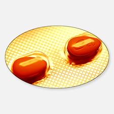 Cialis pills - Sticker (Oval)