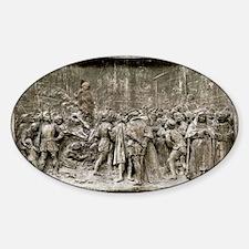 Giordano Bruno's execution - Decal