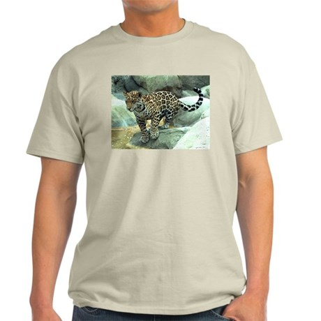 Jumping Jaguar Ash Grey T-Shirt