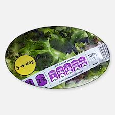 Nutritional information - Sticker (Oval)