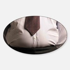 Obese businessman - Decal