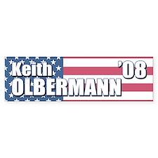 KEITH OLBERMANN '08 Bumper Bumper Sticker