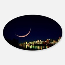 Moon over Vancouver - Decal
