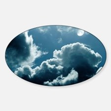 Moonlit clouds - Decal