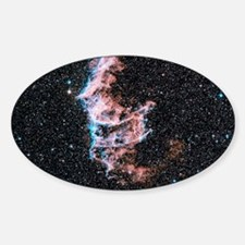 Veil nebula supernova remnant - Sticker (Oval)