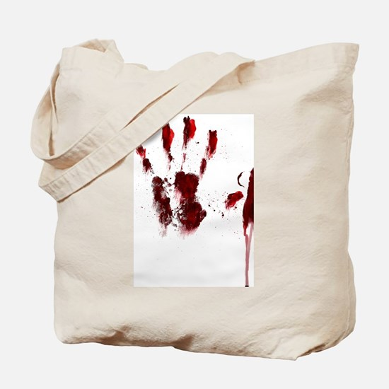 The Red Hand Tote Bag