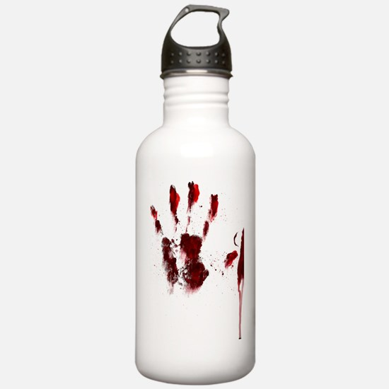 The Red Hand Water Bottle