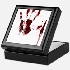 The Red Hand Keepsake Box