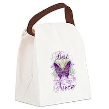 Best Niece Canvas Lunch Bag