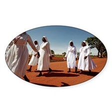 Ugandan nuns - Decal
