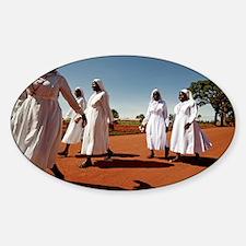 Ugandan nuns - Decal