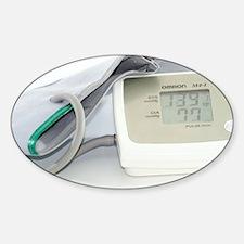 Digital blood pressure monitor - Sticker (Oval)