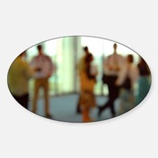 Business people - Sticker (Oval)