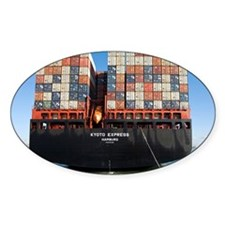 Container ship - Decal