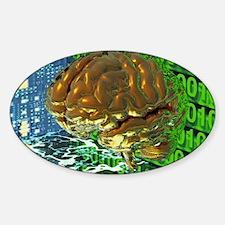 Digital brain - Decal