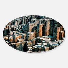 Giant's Causeway - Sticker (Oval)