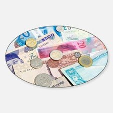 International currency - Decal