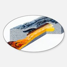 Lava tube formation - Decal