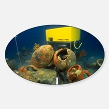 Marine archaeology - Sticker (Oval)