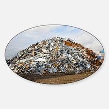 Scrap metal - Sticker (Oval)
