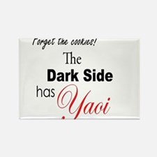 The Dark Side Has Yaoi Rectangle Magnet