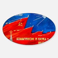 Sputnik 1 postcard - Decal