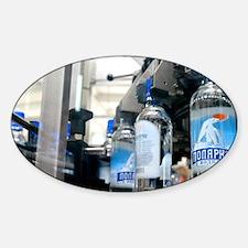 Vodka bottling machine - Decal