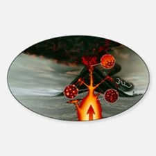 Volcanic eruption - Decal