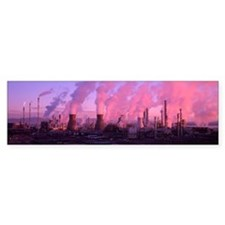 Petrochemical plant - Bumper Sticker