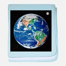 Earth from space, satellite image - Baby Blanket