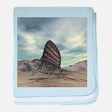 Dimetrodon, artwork - Baby Blanket