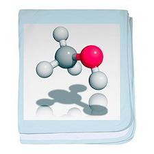 Methanol alcohol molecule - Baby Blanket