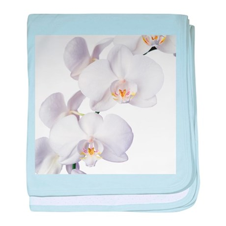 Orchid flowers - Baby Blanket