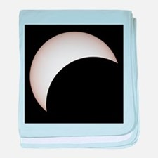 Partial solar eclipse - Baby Blanket