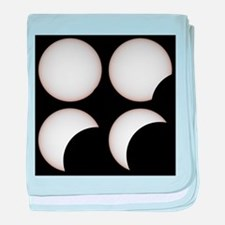 Solar eclipse - Baby Blanket