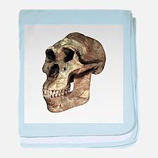 Australopithecus boisei skull - Baby Blanket