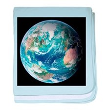 Blue Marble image of Earth (2005) - Baby Blanket