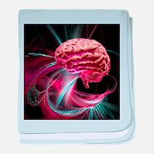 Brain research, conceptual artwork - Baby Blanket
