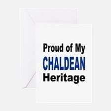 Proud Chaldean Heritage Greeting Cards (Package of