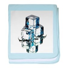 Ice cubes - Baby Blanket