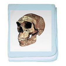 Homo erectus skull - Baby Blanket