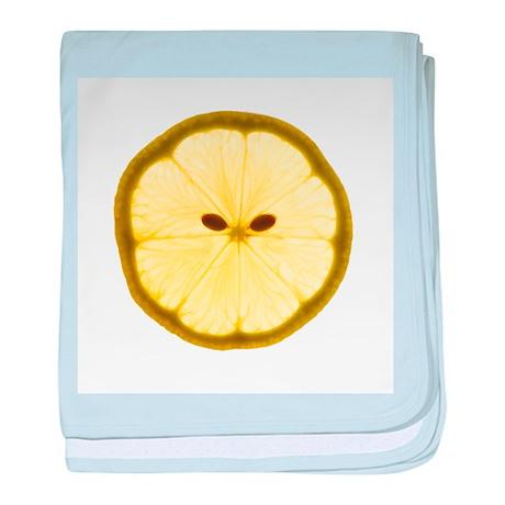 Lemon slice - Baby Blanket