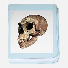 Neanderthal skull - Baby Blanket