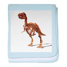 Tyrannosaurus rex dinosaur - Baby Blanket