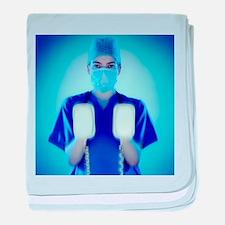 Defibrillator - Baby Blanket